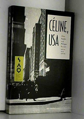 9780822364092: Céline, U.S.A. (The South Atlantic Quarterly Spring 1994, Vol 93, No 2)