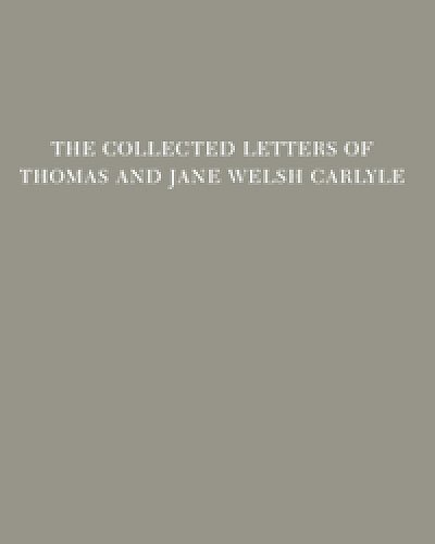 9780822365013: The Collected Letters of Thomas and Jane Welsh Carlyle: January 1854-June 1855