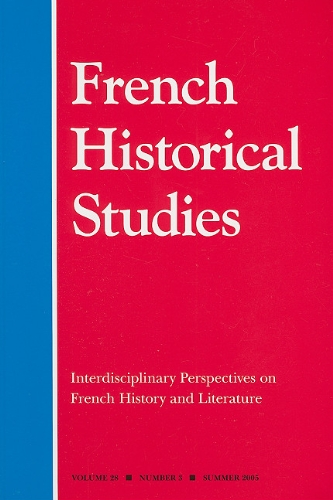 Interdisciplinary Perspectives on French Literature and History: Robert A. Schneider