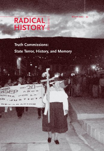 9780822366744: Truth Commissions: State Terror, History, and Memory (Radical History Review)
