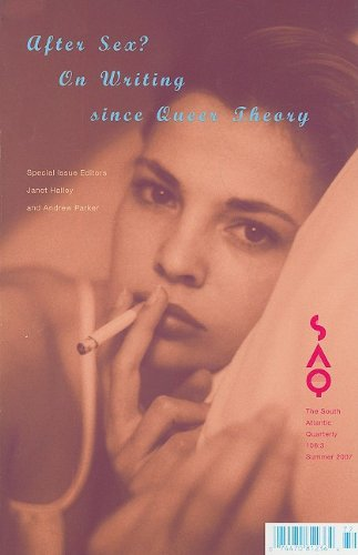 9780822366829: After Sex? On Writing Since Queer Theory (South Atlantic Quarterly)