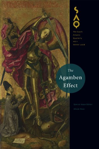 9780822366843: The Agamben Effect (South Atlantic Quarterly)