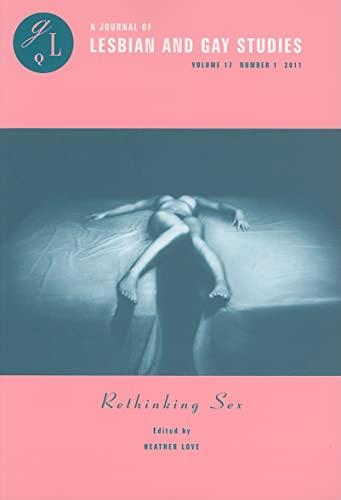 Rethinking Sex -: Jagose, Annamarie