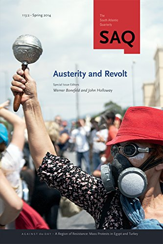 9780822368090: Austerity and Revolt (South Atlantic Quarterly)