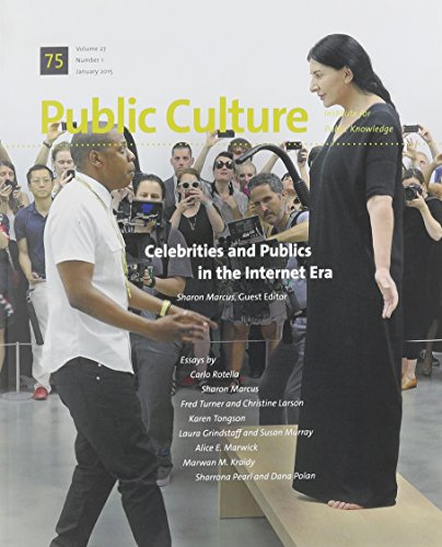 9780822368144: Celebrities and Publics in the Internet Era