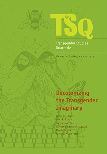 9780822368175: Decolonizing the Transgender Imaginary (Transgender Studies Quarterly)