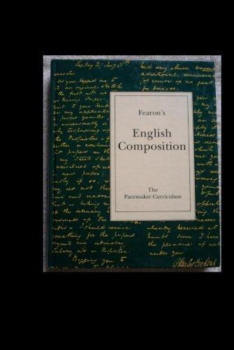 9780822408024: Fearon's English Composition