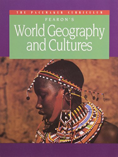 9780822408529: Fearon's World Geography and Cultures (Pacemaker Curriculum)