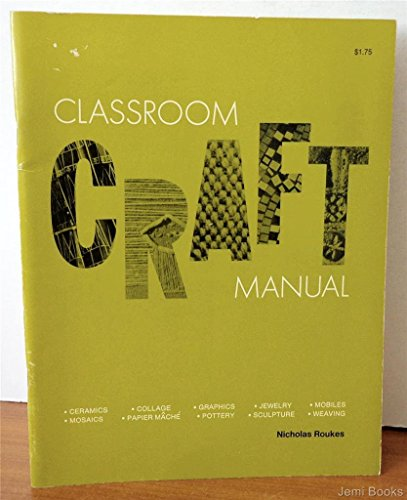 9780822413905: Classroom craft manual