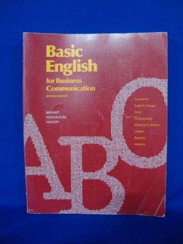 Basic English for business communication: Katherine Cliffton Bryant