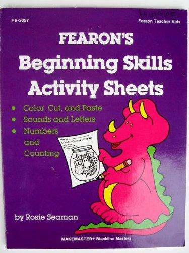 9780822430575: Fearon's Beginning Skills Worksheets