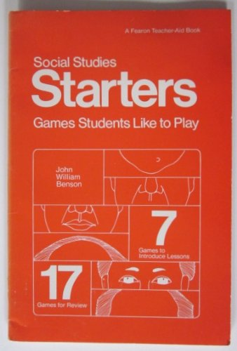 9780822432708: Social Studies Starters: Games Students Like to Play