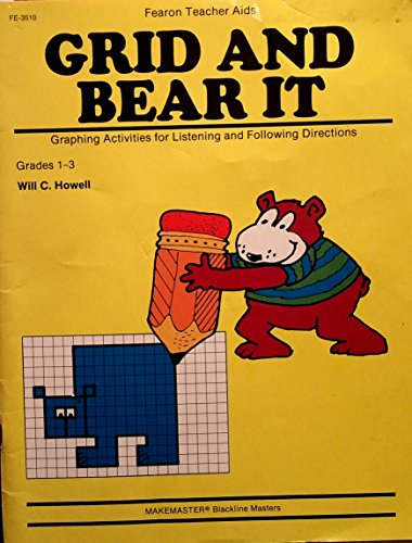 9780822435105: Grid and Bear It: Graphing Activities for Listening & Following Directions, Grades 1-3
