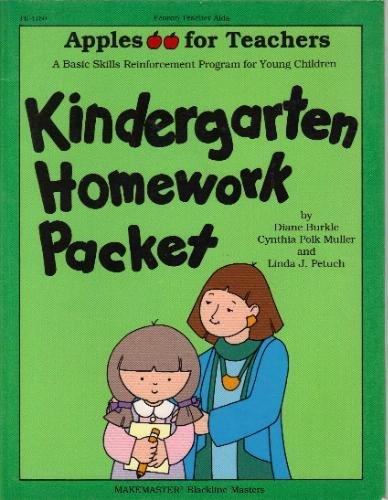 9780822441502: Kindergarten Homework Packet