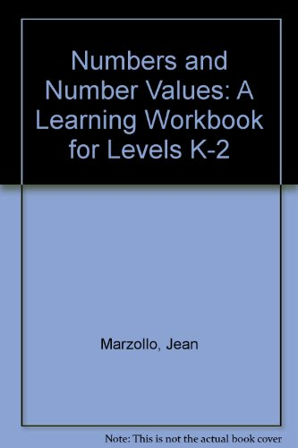 Numbers and Number Values: A Learning Workbook for Levels K-2 (9780822441830) by Jean Marzollo