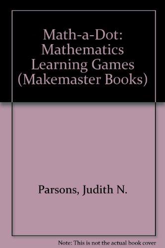9780822444152: Math-a-Dot: Level 1: Mathematics Learning Games (Makemaster Books)