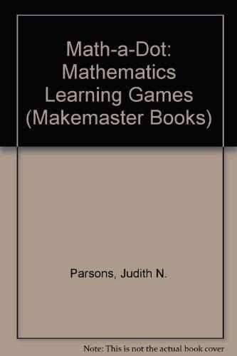 9780822444169: Math-a-Dot: Level 2: Mathematics Learning Games (Makemaster Books)