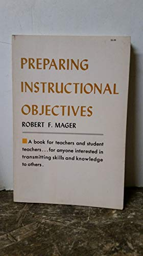 9780822456018: Preparing Instructional Objectives