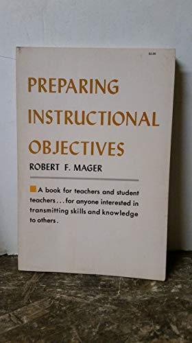 9780822456018: Preparing Instructional Objectives