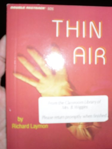 Thin Air (Double Fastback S. O. S. Series) (0822465043) by Richard Laymon
