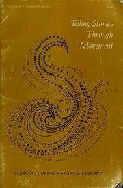 Telling stories through movement (A Fearon teacher-aid book): Dorian, Margery