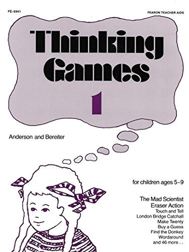 Thinking Games, Book 1 (9780822469414) by Valerie Anderson; Carl Bereiter