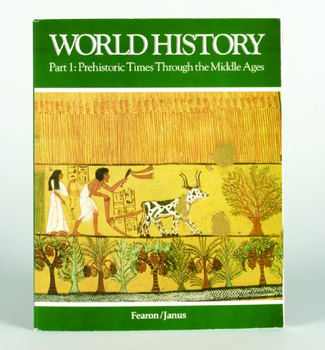 9780822473411: World History Part 1: Prehistoric Times Through the Middle Ages