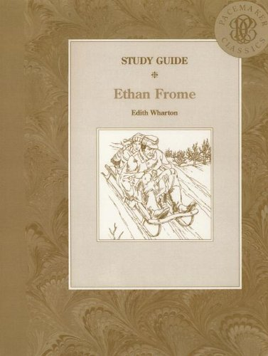 9780822494461: ETHAN FROME STUDY GUIDE (Pacemaker Classics Study Guides)