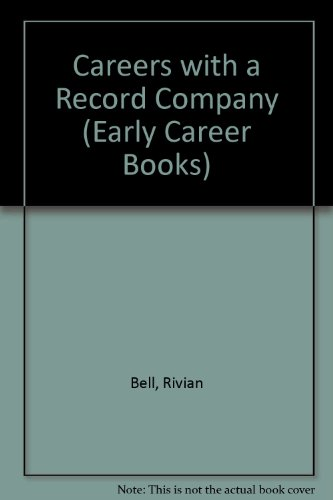 9780822503484: Careers With a Record Company (Early career books)