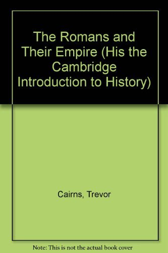 9780822508021: The Romans and Their Empire (The Cambridge Introduction to History, Vol. 2)
