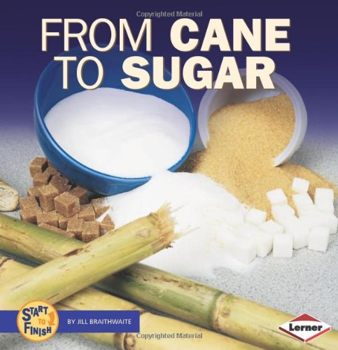 From Cane to Sugar (Start to Finish (Lerner Hardcover)): Jill Braithwaite