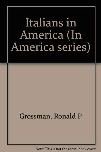 9780822510406: Italians in America (In America Series)