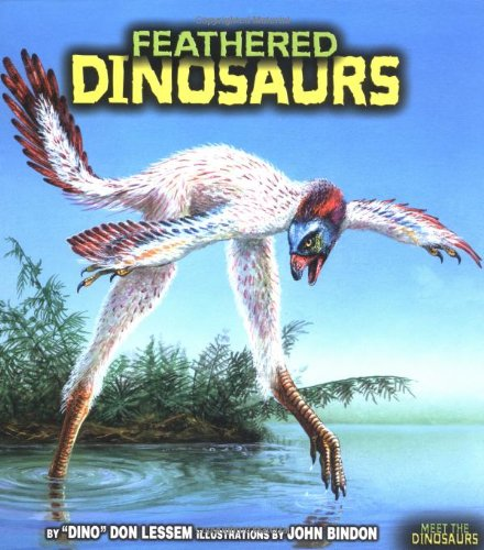 9780822514237: Feathered Dinosaurs (Meet the Dinosaurs)