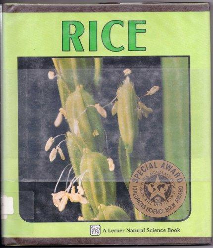 Rice (Natural Science Book): Sylvia A. Johnson