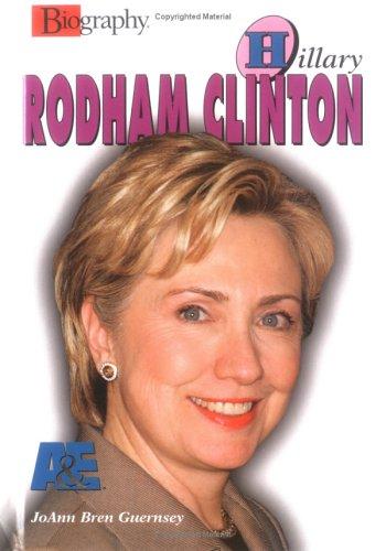 9780822523727: Hillary Rodham Clinton (Biography (A & E))