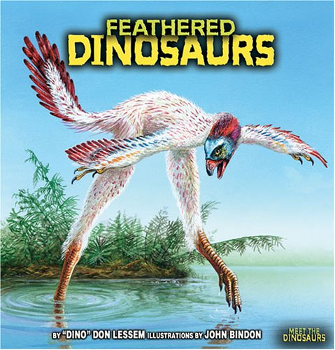 9780822526216: Feathered Dinosaurs (Meet the Dinosaurs)