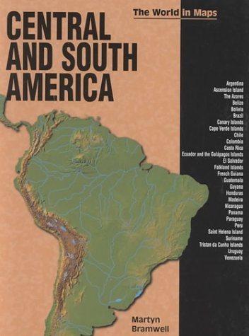 9780822529125: Central and South America (World in Maps)