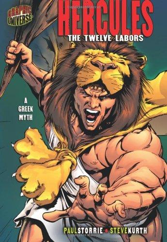 9780822530848: Hercules: The Twelve Labors : A Greek Myth (Graphic Universe)