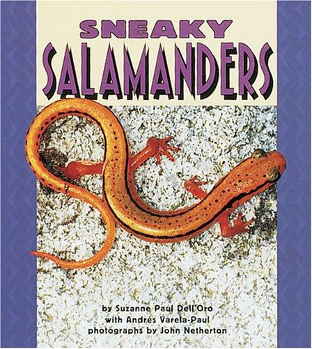 9780822536123: Sneaky Salamanders (Pull Ahead Books)