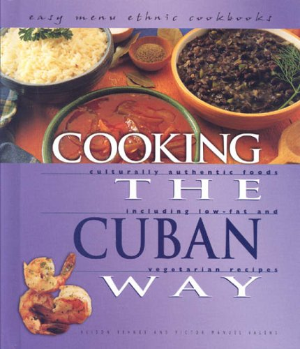 9780822541295: Cooking The Cuban Way (Easy Menu Ethnic Cookbooks)
