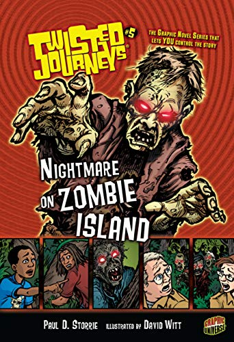 9780822562009: Nightmare on Zombie Island: Book 5 (Twisted Journeys (Paperback))