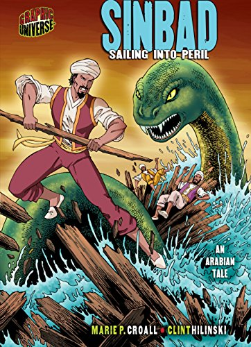 9780822563754: Sinbad: Sailing into Peril: an Arabian Tale (Graphic Myths and Legends)