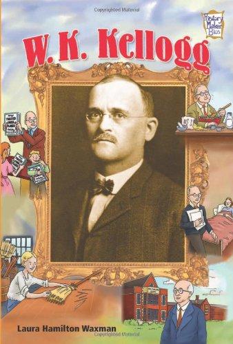 9780822565789: W. K. Kellogg (History Maker Bios)