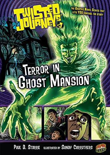 Terror in Ghost Mansion (Library Binding): Paul D. Storrie