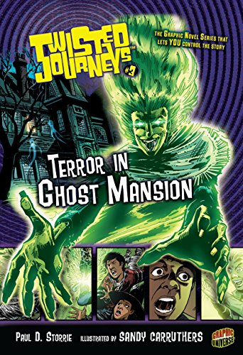 9780822567783: Terror in Ghost Mansion (Twisted Journeys (Paperback))
