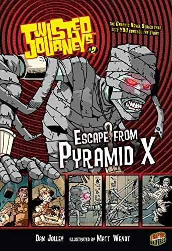 9780822567790: Escape from Pyramid X (Twisted Journeys)