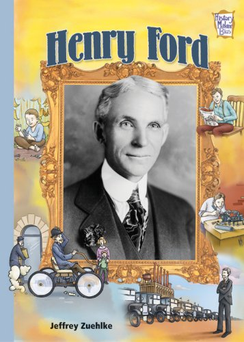 9780822568728: Henry Ford (History Maker Bios)