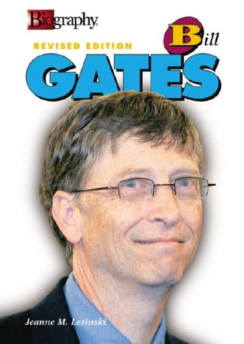 Bill Gates (Biography (Lerner Hardcover)): Lesinski, Jeanne M.