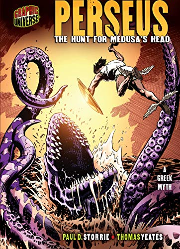 Perseus: The Hunt for Medusa's Head: A Greek Myth (Graphic Myths & Legends): Storrie, Paul...