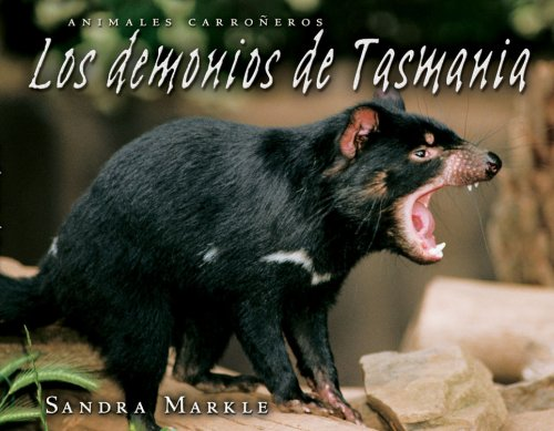 9780822577331: Los Demonios de Tasmania (Animales Carroneros) (Spanish Edition)